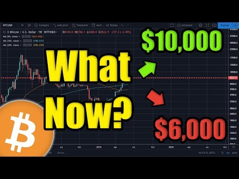 Bitcoin is MOVING! Will Bitcoin Price reach $10,000 BTC or $6,000 BTC This Week? [Crypto News]