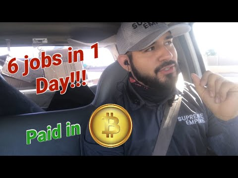 Vlog #32: Can Supreme Empire Complete 6 Jobs in 1 Day? Customer trying to pay in Bitcoin!