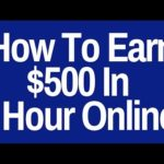 Best Way To Make Quick Money Online In One Day With Income Proof! (Earn $500 In One Hour!)