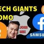 Tech Giants FOMO into Bitcoin and Crypto | Lunch with Justin Sun?