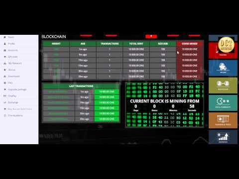 Blockchain of OneCoin Mining Pool