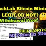 Libreng Bitcoin Mining Para sa mga Coins.ph User na Walang Laman