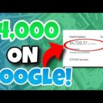 Make Money Online For Beginners | How to Make $4,000+ Per Month From Google (UNDERGROUND METHOD!)