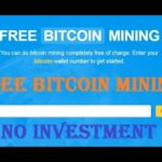 NEW Free BITCOIN Mining 2019 | Free Earn Bitcoin | Daily Earn 0.08 Bitcoin | No Investment