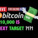 Bitcoin NEXT PRICE TARGET = $10,000?! 🚨-LIVE Crypto Trading Analysis & BTC Cryptocurrency News 2019