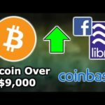 BITCOIN OVER $9,000 & 10K FOMO INCOMING - BITCOIN CBS & 1M ACTIVE ADDRESSES - COINBASE CUSTODY $1.3B