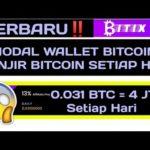 TERBARU!! Hanya Modal Wallet BITCOIN Dapat BTC Setiap Hari | Kumpulan website mining Gratis BTC 2019