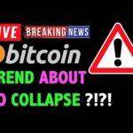 Bitcoin BULL TREND ABOUT TO COLLAPSE?! -LIVE Crypto Trading Analysis & BTC Cryptocurrency Price News