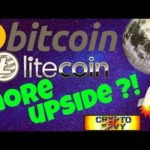 🚀Bitcoin Litecoin MORE UPSIDE?🚀 bitcoin litecoin price prediction, analysis, news, trading