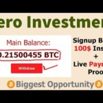 😱Free High Earn Bitcoin Mining Site 2019 Signup Bonus 100$ Instant Zero Investment+Payment Proof