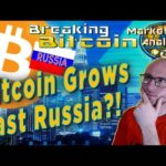 Bitcoin Blows Past Russia On It's Way To 10K – Trillion $$$ Market Cap Here We Come!