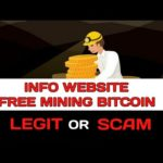 UPDATE‼️Info Website Free Mining BITCOIN 2019 SCAM or LEGIT