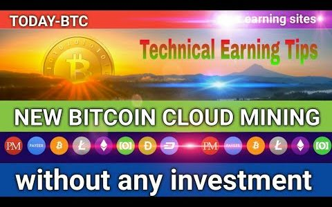 New Free Bitcoin cloud mining site zero day runing 26 June 2019 by Technical Earning Tips ..