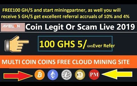 New Bitcoin cloud mining Site   100 ghs and Every Refer 5 ghs   live payment proof