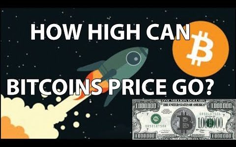 How High Can Bitcoins Price Go?! $1,000,000 Bitcoin?!