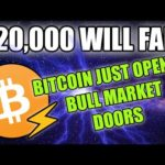BITCOIN BULL MARKET DOORS OPENED | $20k WILL FALL | SHORT TERM RESISTANCE HERE!