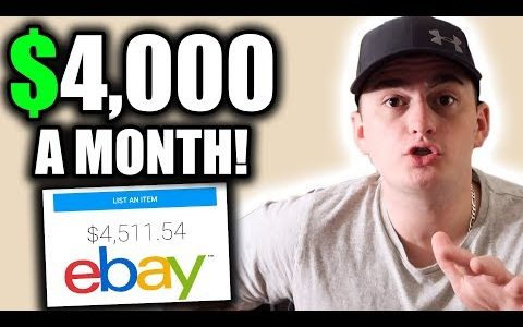 MAKING $4,000 A MONTH on eBay!!! HOW TO MAKE MONEY ONLINE