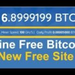 New Bitcoin cloud mining Site | 100 ghs and Every Refer 5 ghs | Zero InvestMent Don't Miss