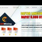 MANTAP!! DAFTAR LANGSUNG DAPAT BONUS 0.005 BTC | SITUS MINING BITCOIN TERBARU 0 HARI