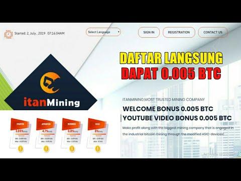MANTAP!! DAFTAR LANGSUNG DAPAT BONUS 0.005 BTC   SITUS MINING BITCOIN TERBARU 0 HARI