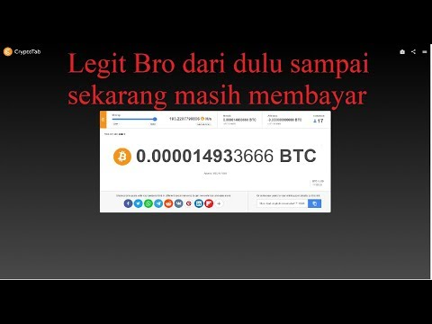 TERBARU MINING BITCOIN 2019 , PAKAI CRYPTOTAB LEGIT!!!!