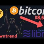 BITCOIN DOWNTREND!! | FACEBOOKS LIBRA HALTED BY US LAWMAKERS!!! | Tether Manipulation?