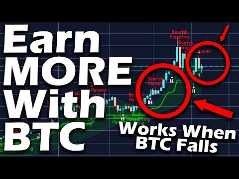 How I Make Money With BITCOIN Even the Market Is Down - Tutorial - Anyone can do This!