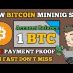 New Bitcoin Mining Site | Earn 0.8 BTC Per Day | Live Withdraw Payment Proof