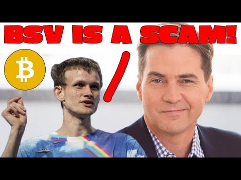 Bitcoin SV is a SCAM... Obviously!