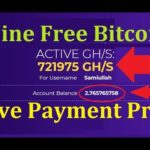 New Free Bitcoin Cloud Mining Site 2019 | New Free Cloud Mining Site | Free Bitcoin Mining Site 2019