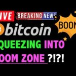 Bitcoin PRICE SQUEEZING INTO BOOM ZONE?! 🛑- LIVE Crypto Trading Analysis & BTC Cryptocurrency News