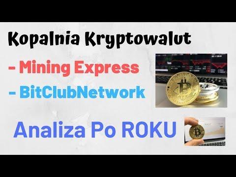 Kopalnia Mining Express i BitClubNetwork po ROKU - KRYPTOWALUTY BITCOIN