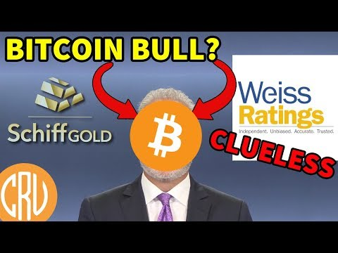 Closet Bitcoin Bull Peter Schiff - Weiss Clueless on Crypto Ratings