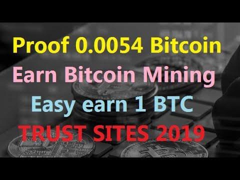 Easy Earn 1 BTC | Live proof 0.0054 Bitcoin | Earn Bitcoin Mining