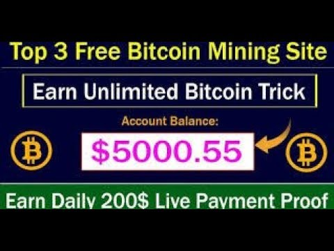 Top 3 New Big Free Bitcoin Mining Site 2019 | Signup Bonus 50000 gh/s Live Proof