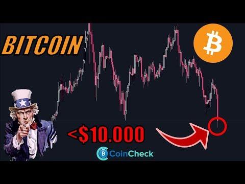 BITCOIN fällt unter $10K! Wie geht es weiter? Kryptowährung BASHING von USA? Krypto News Deutsch