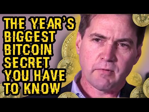 The Year's BIGGEST BITCOIN SECRET Was JUST REVEALED By GENIUS With 200 IQ - What's HIS SECRET TIP?