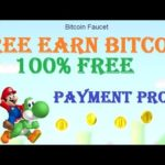 Earn FREE Bitcoin 2019 | Earn Bitcoin Faucet, Play Mario Game, CPU Mining | With Live Payment Proof