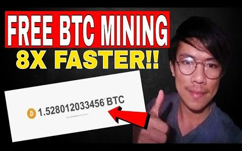 BITCOIN MINING –  8X FASTER THAN CRYPTO TAB GOOGLE EXTENSION