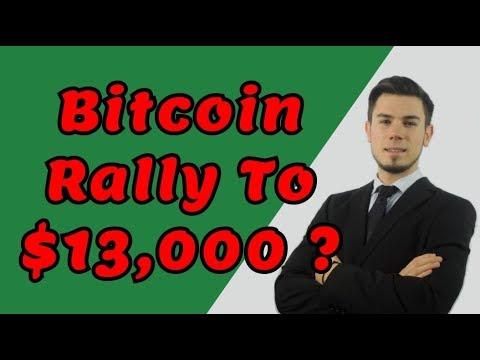 Bitcoin Rally To $13,000 ? - LIVE Crypto Trading Analysis & BTC Cryptocurrency Price News