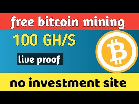 New free mining site 2019 !! Free bitcoin cloud mining 2019