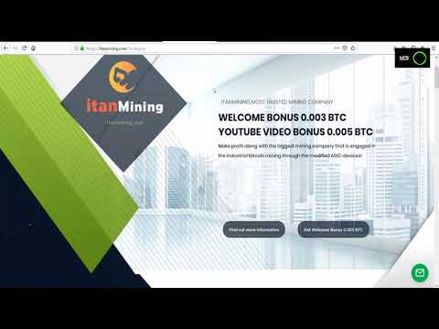 Itanmining Proof 77.35$ Bitcoin | Free 0.005 BTC | biggest mining