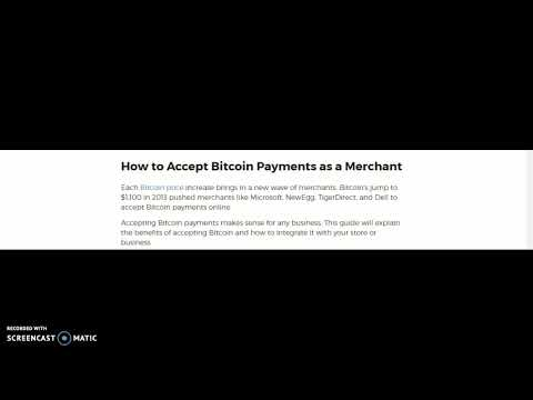 How to Accept Bitcoin Payments as a Merchant