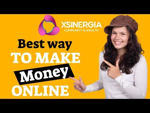 Best Way To Make Money Online In 2019 – Xsinergia [An Honest Review]