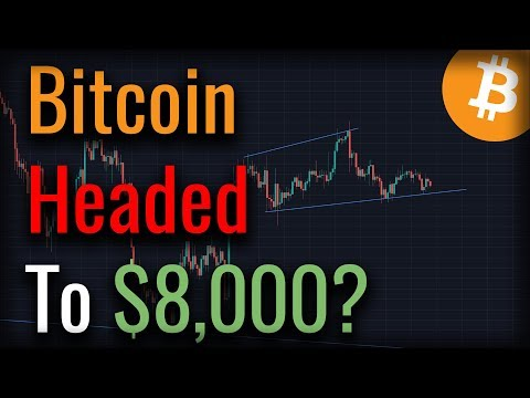 Could This Bitcoin Head And Shoulders CRASH Bitcoin To $8,000?