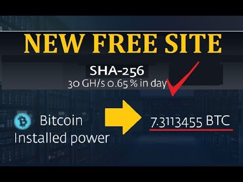New Free Bitcoin Cloud Mining Site 2019 | New Free Bitcoin Mining Site  | New Free Cloud Mining Site
