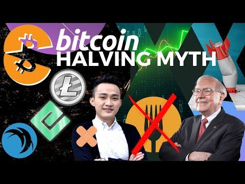 Bitcoin Halving Analysis. Justin Sun Delays Warren Buffet Meeting!