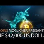 BITCOINS MÖGLICHER PREISANSTIEG AUF $42,000 USD