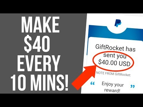 Make $40 In Fast PayPal Money Every 10 Mins Right Now Online Easy! - Make Money Online!