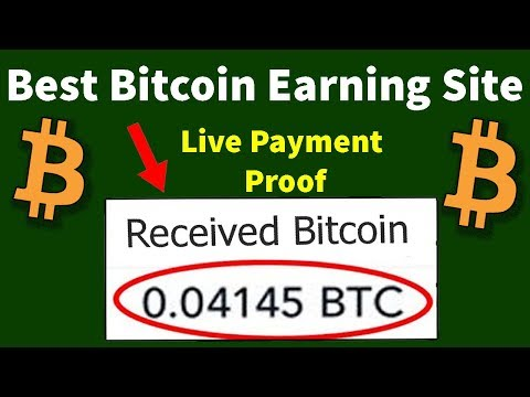 Top World Best Bitcoin Mining Site Earn Daily Free Bitcoin with Live Payment Proof